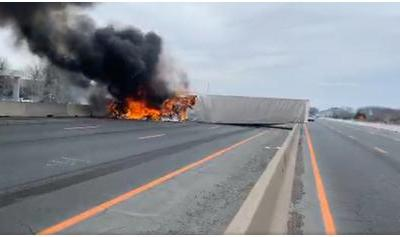 Highway 401 Truck Barrier Impact Is Not A Success Story