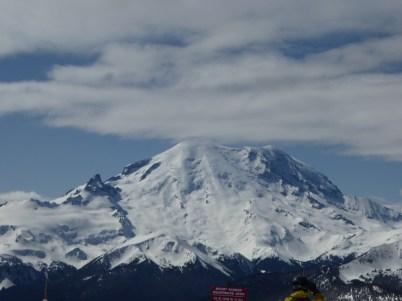 Crystal Mountain views of Rainier