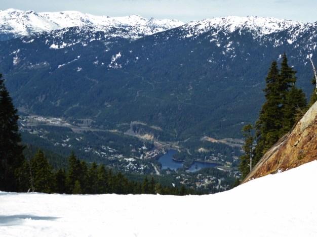 Whistler - top of Franz's Run