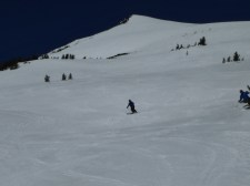Mt Bachelor - corn on Cow Face