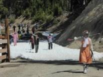 Blackcomb Glacier stroll to lifts