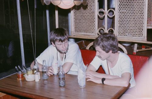 Artur Hajzer i Rafał Hołda, Kathmandu 1982, z archi. Artura Hajzera