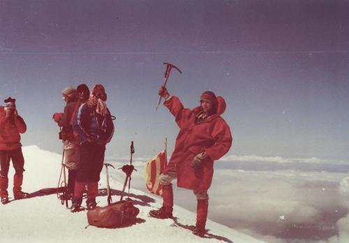 Mont Blanc 1981 - z arch. Artura Hajzera