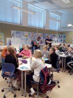 55 uczniów na lekcji matematyki