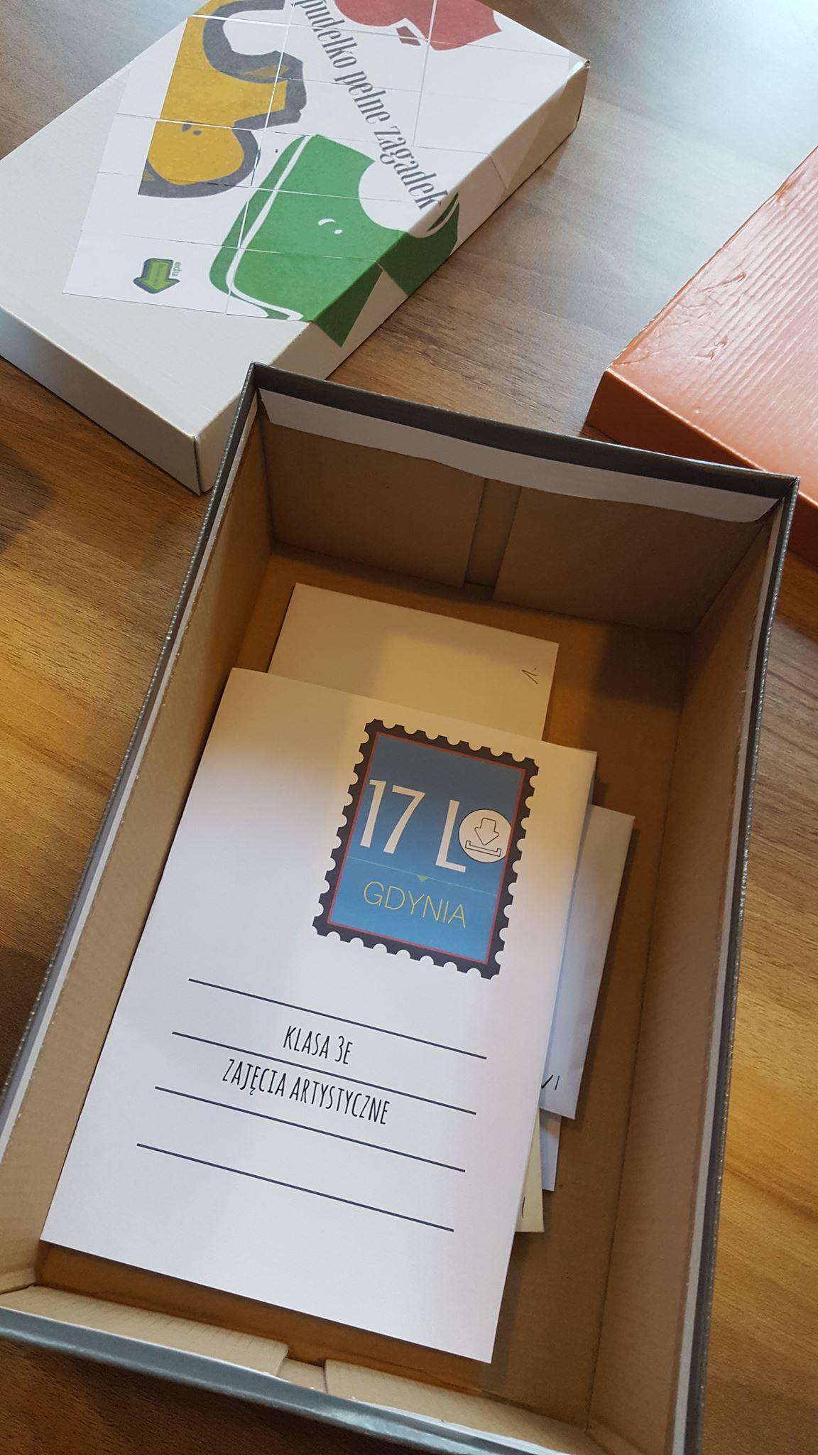 Pudełko pełne zagadek – pomysł na ciekawą lekcję