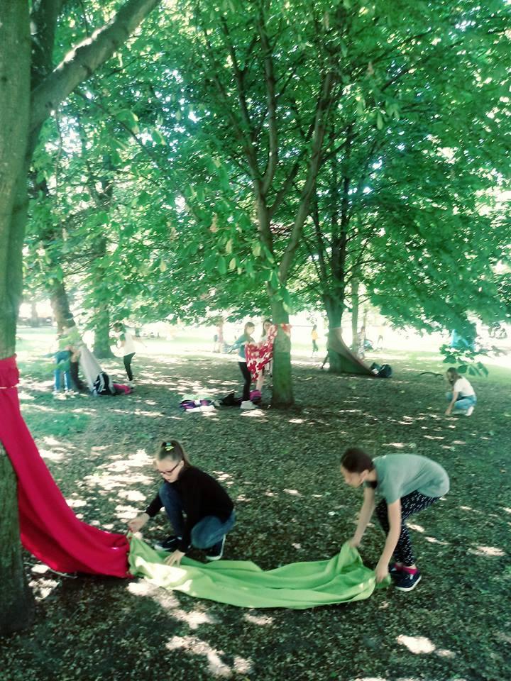 Lekcja w parku – inspiracja z SP21 w Elblągu