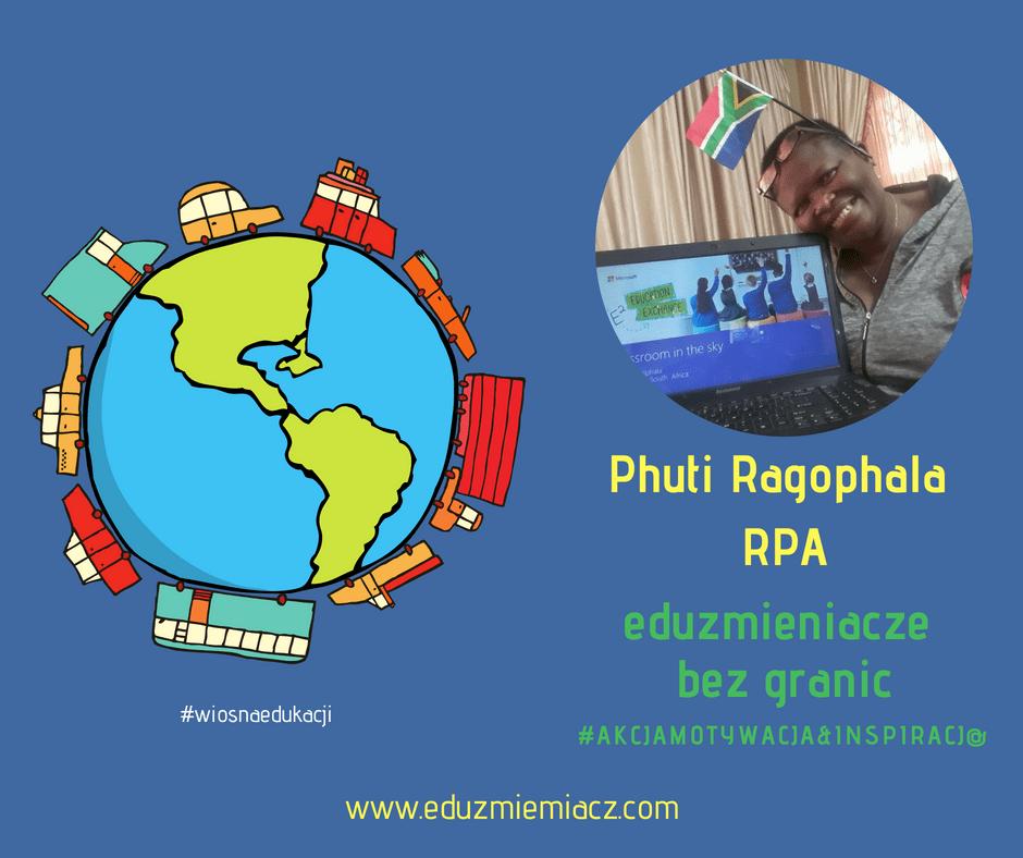 Eduzmieniacze bez granic – techno granny Phuti z RPA