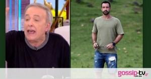 "Wild cracking of Mikroutsikos to Sakis Tanimanidis: ""He is not a good presenter, he is a gentleman"""