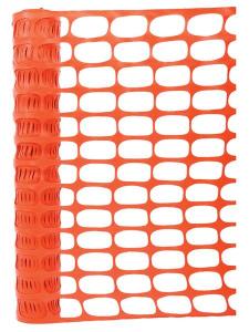 Orange PVC Mesh Fencing