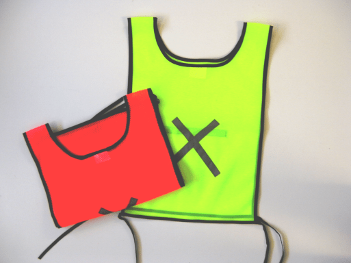 Reflective Bibs: Available in: Orange & Lime