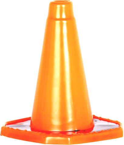 Road Cones: Available in: 450mm Soft