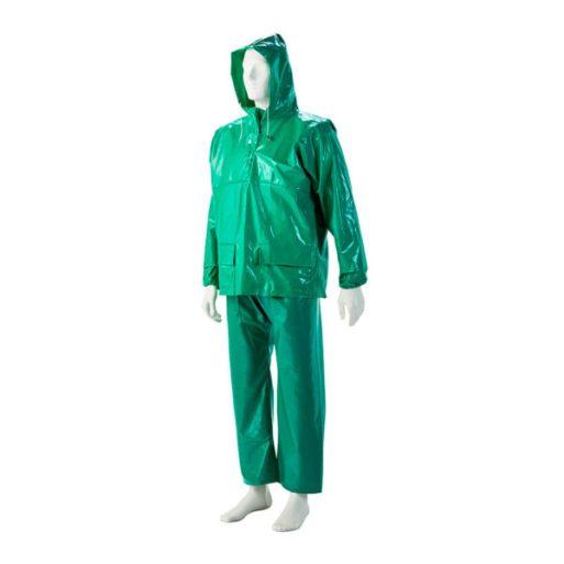 Green Oilskin Jacket
