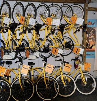 Bike Pottsown on racks