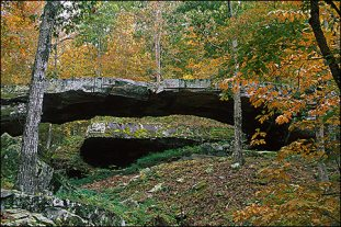 The Natural Bridge - a million years of history
