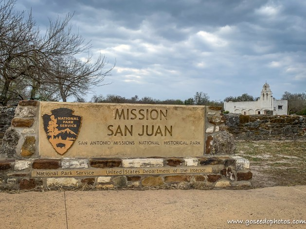 Exterior of the Mission San Juan
