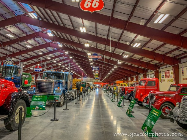 Inside the Trucking Museum
