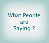 What-People-are-Saying
