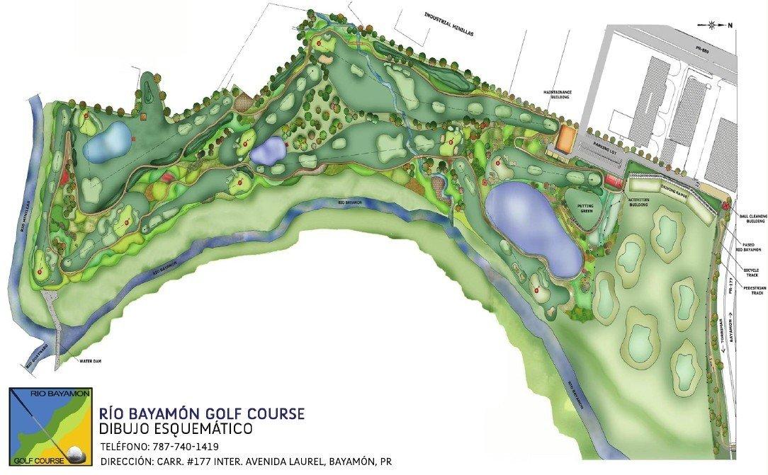 Rio Bayamon Golf Course 9 Hole Course in Bayamon Puerto Rico