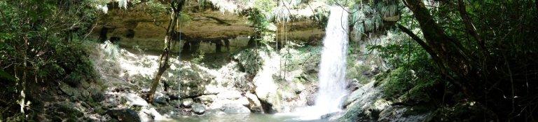 Gozalandia Waterfall Panoramic 1