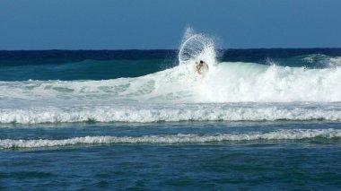 Evan Geiselman in the Rip Curl Pro Puerto Rico 2013 Jobos Beach