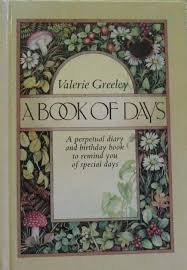 A Book Of Days - Valerie Greeley book