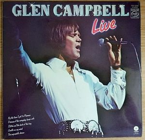 Glen Campbell Live - Glen Campbell - Vinyl