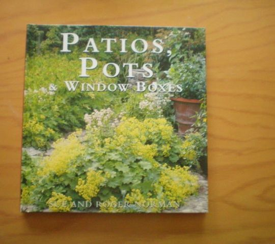 Patios, Pots & Window Boxes - Sue And Roger Norman book
