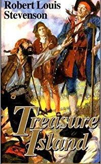 Treasure Island - Robert Louis Stevenson - The Children's Golden Library book