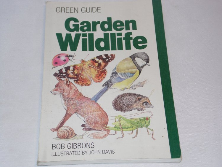 Garden Wildlife - Bob Gibbons - book