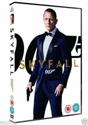 SKYFALL 007 DVD