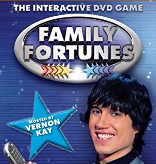 The Interactive DVD Game FAMILY FORTUNES dvd