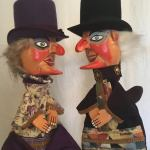 Steampunk Punch and Judy Puppets 1