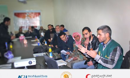 A heuristic seminar for the farmers of Aleppo's northern countryside