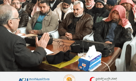 Heuristic seminars for the farmers of Homs