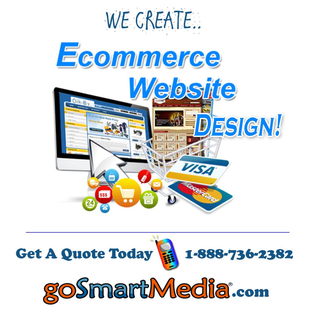 Ecommerce website design in Canada