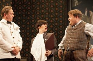 One Man, Two Guvnors 2011 with Jemima Rooper and James Corden