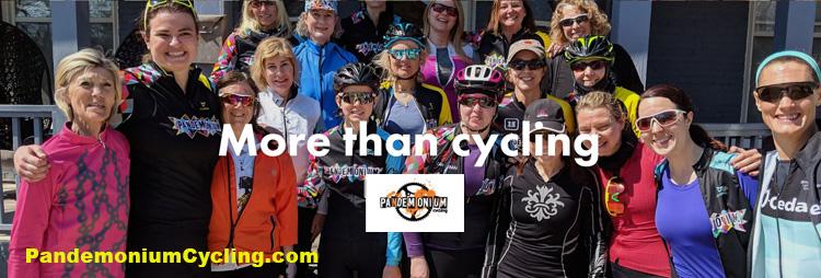 image of Pandemonium Cycling members