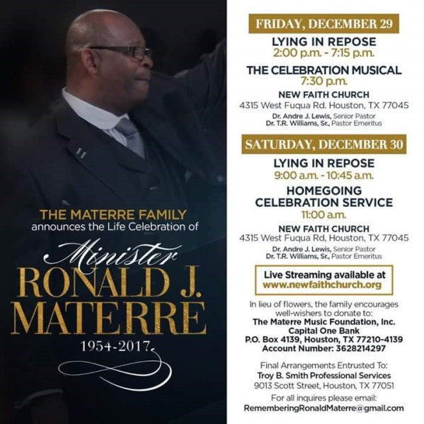 Ronald J Materre