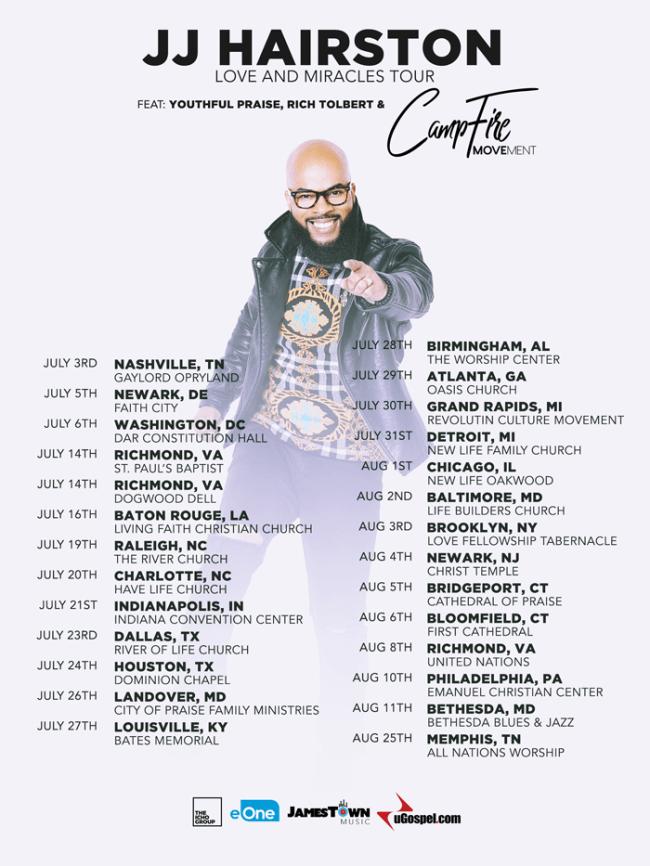 jj harrison tour 2019