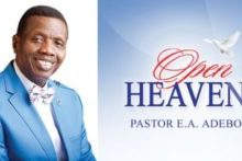 Open Heaven 25 March 2021 Thursday Daily Devotional By Pastor E. A. Adeboye – Signs Of Backsliding IV