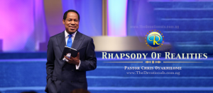 Rhapsody Of Realities 26 September 2021 Guide | Make Things Right With The Prophetic Word