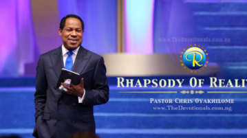 Rhapsody Of Realities For Today Born Of The Life-Giving Spirit