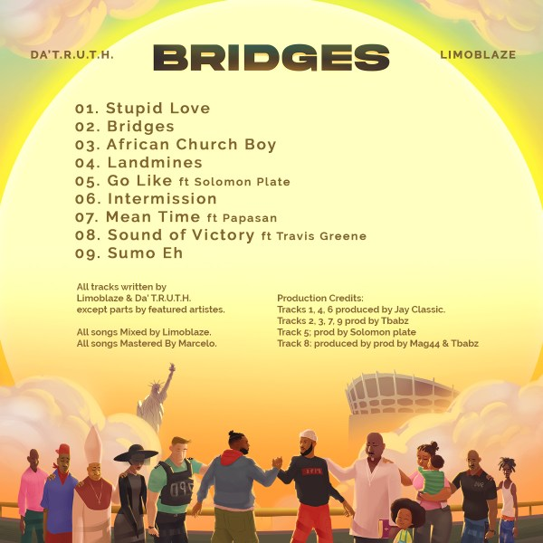 Da' T.R.U.T.H. & Limoblaze Team Up To Release 'Bridges' Album