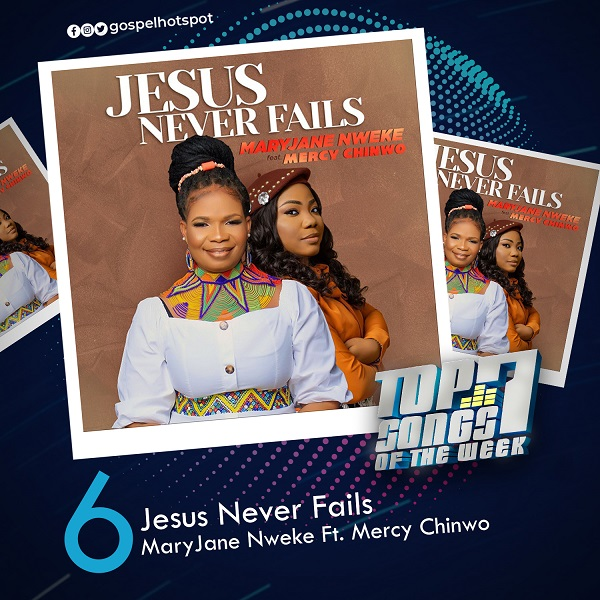 Jesus Never Fails – MaryJane Nweke Ft. Mercy Chinwo