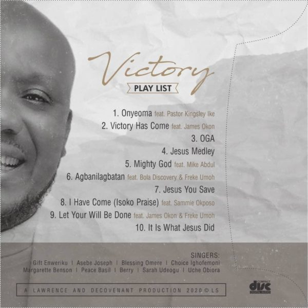 Decovenant - Victory tracklist