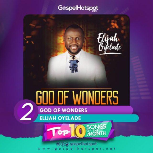 Elijah Oyelade – God Of Wonders