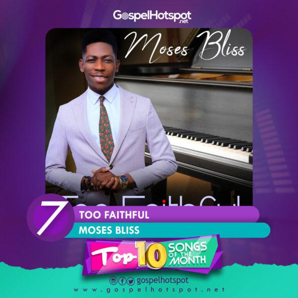 Top 10 Nigerian Gospel Songs Of The Month   June 2019