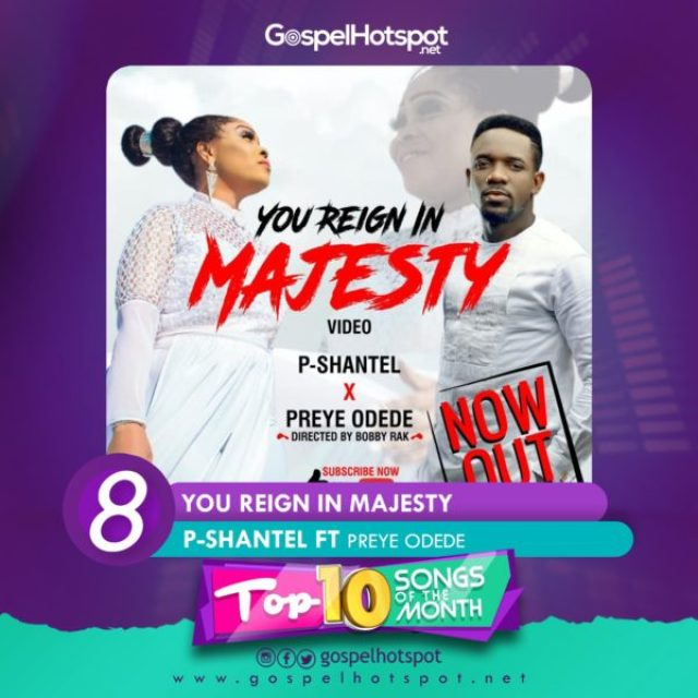 Top 10 Nigerian Gospel Songs Of The Month For August 2018