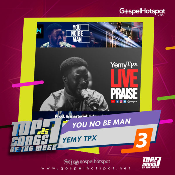 Yemy TPX – You No Be Man