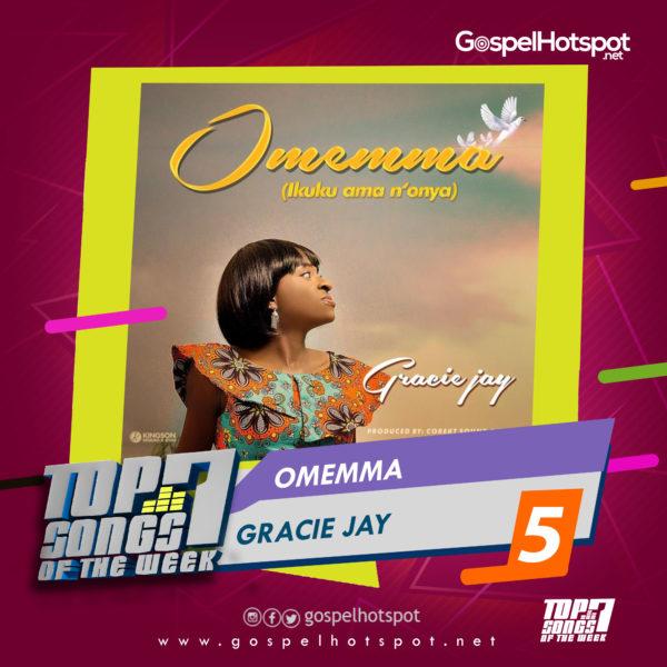 Top 7 Nigerian Gospel Songs Of The Week   1st Week Of April